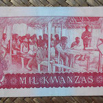 Angola 1000 kwanzas 1979 pk.117a reverso