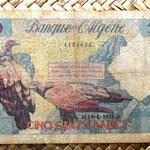 Argelia francesa 500 francos 1958 anverso
