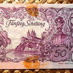 Austria 50 shillings 1951 reverso