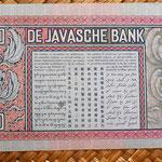 Indias Orientales Holandesas 10 gulden 1939 reverso