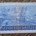 Angola 500 kwanzas 1979 pk.116a reverso