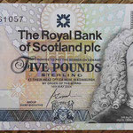Escocia 5 pounds 2004 Royal Bank Conmemorativo R&A (135x72mm) pk.363 anverso