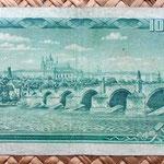 Checoslovaquia 100 korun 1961 reverso