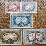Mónaco, serie billetes 1920 anversos