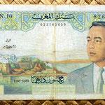 Marruecos 50 dirhans 1969 anverso