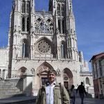 fachada principal de la Catedral de Burgos