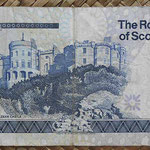 Escocia 5 pounds 1997 Royal Bank pk.352b reverso