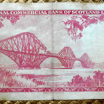 Escocia 20 pounds sterling -Commercial Bank of Scotland Limited 1959 reverso