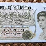 Santa Elena 1 pound 1976 anverso