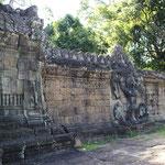 desde el Templo de Preah Khan -pared con garudas II