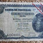 Azores 2,5 MilReis 1909 pk.8b anverso