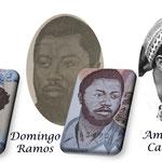 Guinea Bissau 1ª serie Pesos 1975 héroes de la Independencia