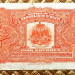 Haiti 5 gourdas 1979 reverso