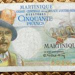 Isla Martinica 50 francos 1947 anverso