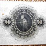 Suecia 50 coronas 1960 reverso