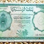 Libia 5 libras 1963 anverso
