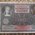 Holanda 100 gulden 1935 (175x97mm) pk.51a anverso