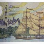 Australia 10 dollars 1988 Conmemorativo (156x78mm) pk.49b anverso