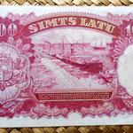 Letonia 100 latu 1939 reverso