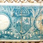 Puerto Rico 1 peso 1895 reverso