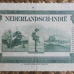 Indias Holandesas 50 gulden 1943 reverso