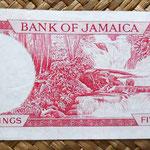 Jamaica 10 shilling 1967 reverso