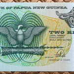 Papua Nueva Guinea 2 kinas 1981 anverso