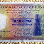 Egipto 10 egyptian pounds 1939 anverso