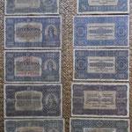 Hungria serie coronas 1923 anversos y reversos