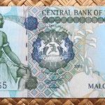 Lesotho 20 maloti 2007 anverso