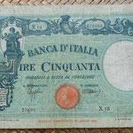 Italia 50 liras 1943 anverso