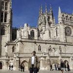 Catedral de Burgos desde la plaza de San Fernando