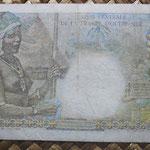 Africa Ecuatorial Francesa 50 francos 1947 (150x80mm) pk.23 reverso