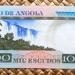 Angola 1000 escudos 1973 reverso