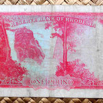 Rhodesia 1 pound 1964 reverso
