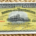Paraguay 100 pesos 1907 anverso