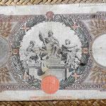 Italia 500 liras 1941 reverso