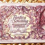 Austria 50 shillings 1951 anverso