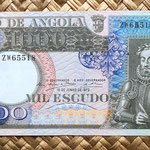 Angola 1000 escudos 1973 anverso