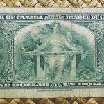 Canada 1 dollar 1937 pk.58b reverso
