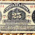México 25 centavos 1915 Estado de Sonora -Hermosillo (116x58mm) anverso