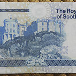 Escocia 5 pounds 1987 (147x78mm) pk.347a reverso
