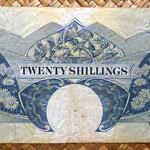 British East Africa 20 shillings 1961 reverso