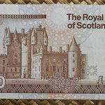 Escocia 10 pounds 1990 (152x85mm) pk.352a reverso