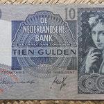 Holanda 10 gulden 1941 (144x82mm) pk.56a anverso