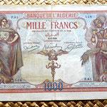 Argelia 1000  francos 1926