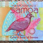 Samoa 20 tala 2008 anverso