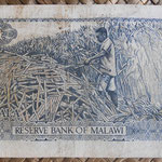 Malawi 50 tambala 1975 (124x68mm) pk.9c reverso