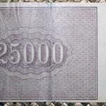 Rusia 25.000 rublos 1921 R.S.F.S.R. (160x86mm) pk.115 reverso