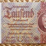 Alemania 1000 reichsmark 1936 anverso